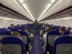 avión de WizzAir