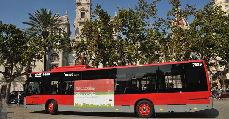 moverse por Valencia en autobús