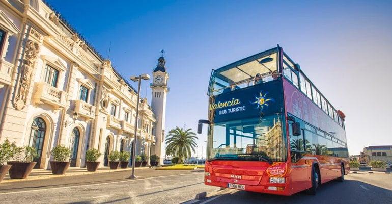 moverse por Valencia en autobús turístico