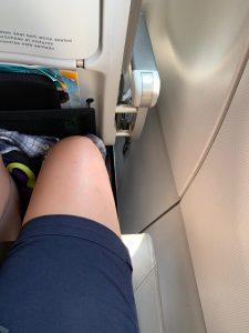 espacio en los aviones de Vueling