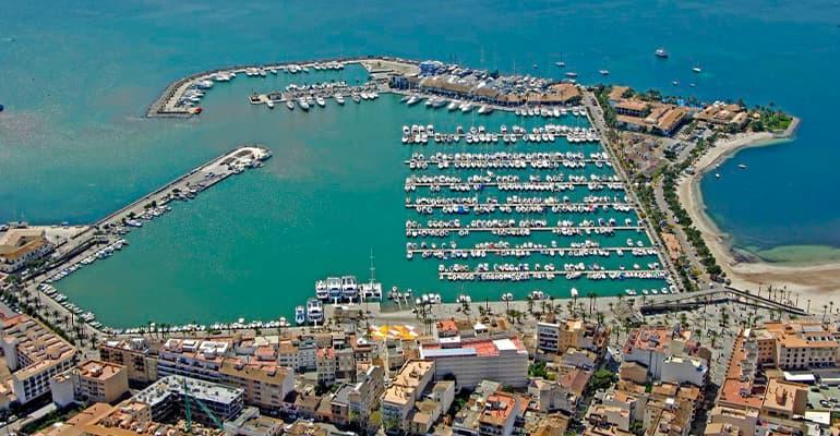 Puerto de Alcúdia en Mallorca