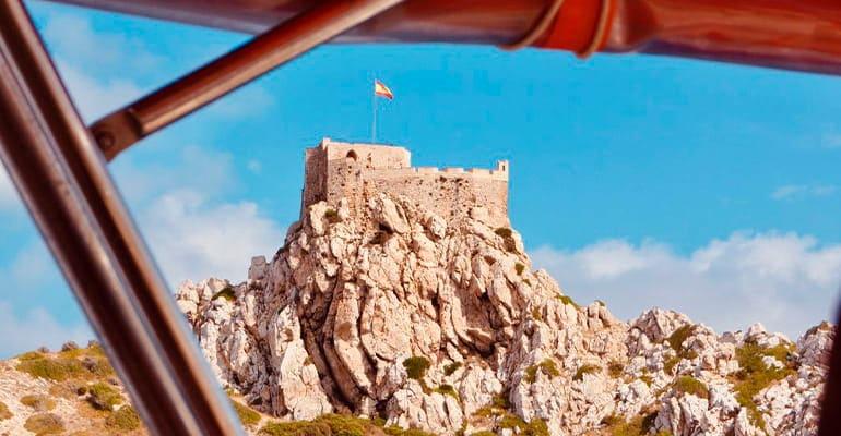 castillo de la isla