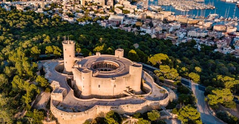 Castillo de Bellver de Mallorca