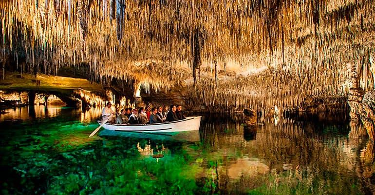 cuevas del Drach, lugar que ver en Mallorca