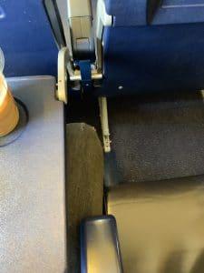 espacio en los aviones de Ryanair