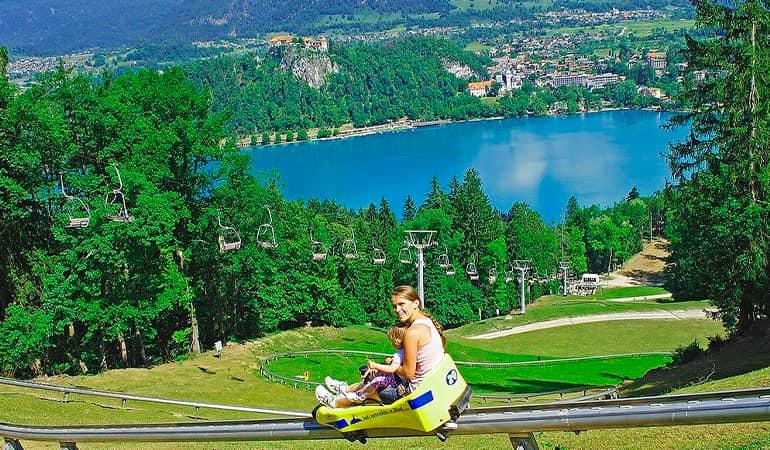 colina Straza en Bled