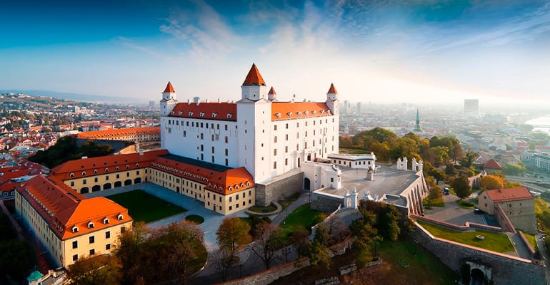castillo, lugar que visitar en Bratislava