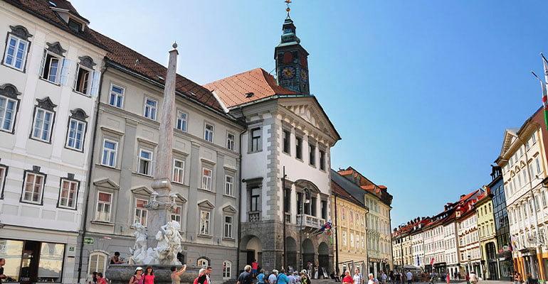 Ayuntamiento de Liubliana