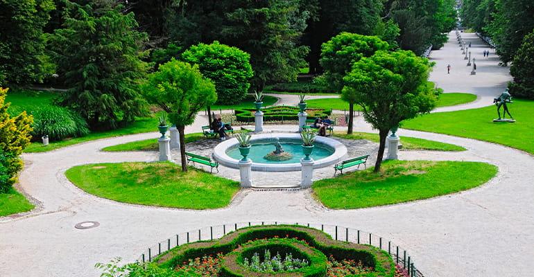 parque Tívoli en liubliana