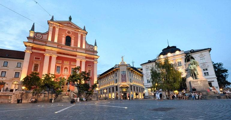 plaza Prešeren, lugar que ver en Liubliana