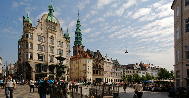 calle Strøget, lugar que ver en Copenhague