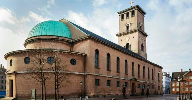 iglesia de nuestra señora en Copenhague