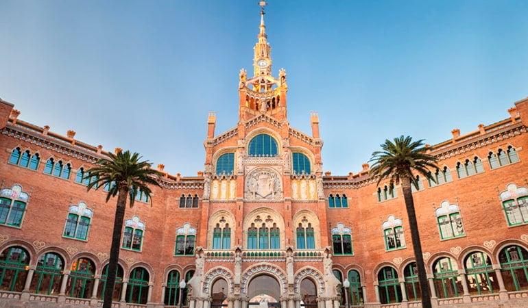 hospital santa creu i san pau de Barcelona