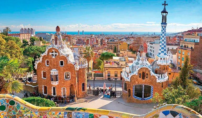 Parc Güell, lugar que ver en Barcelona