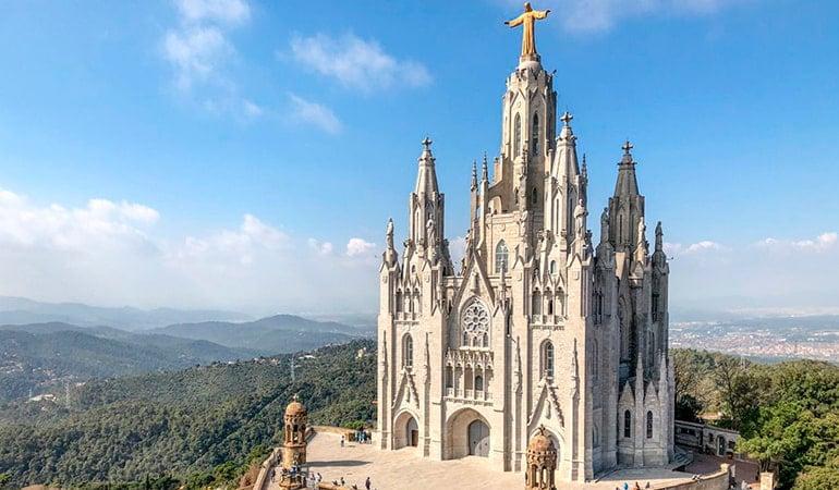 basílica Tibidabo, Templo Expiatorio del Sagrado Corazón de Jesús de Barcelona