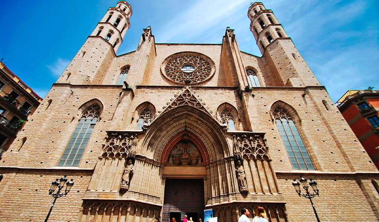 catedral del mar, lugar que ver en Barcelona