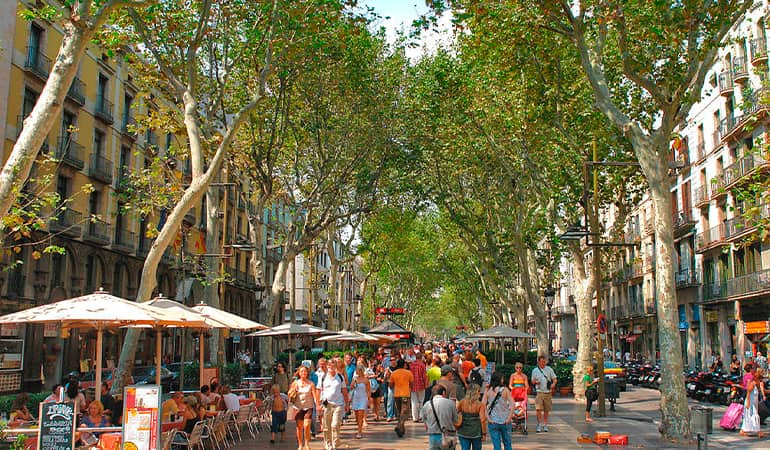 las ramblas, lugar que ver en Barcelona