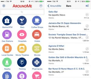 aplicación AroundMe