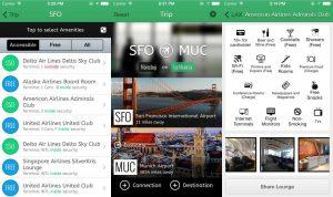 aplicación LoungeBuddy, una de las aplicaciones para viajar
