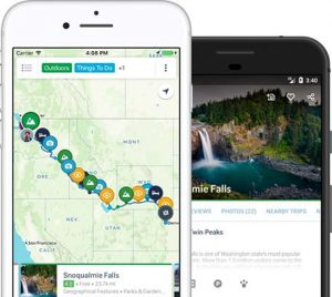 aplicación Roadtrippers, una de las aplicaciones para viajar