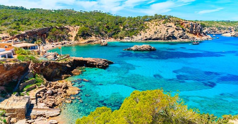 Calas que ver en Ibiza