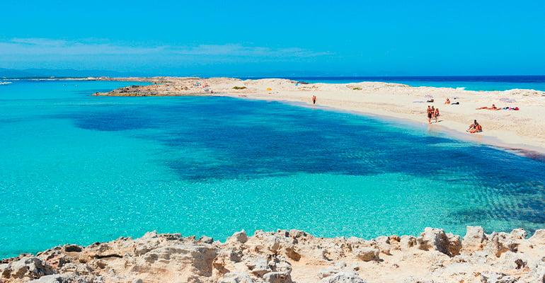 playa Llevant, lugar que ver en Formentera
