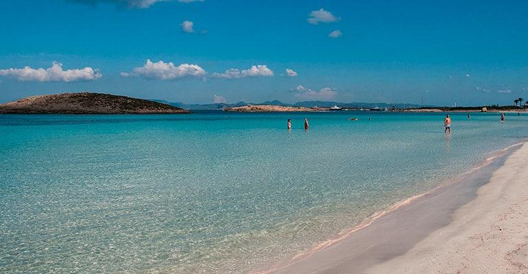 Ses Illetes, playa que ver en Formentera
