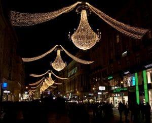 luces de Navidad de Viena