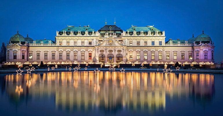mercado Navidad Viena Belvedere