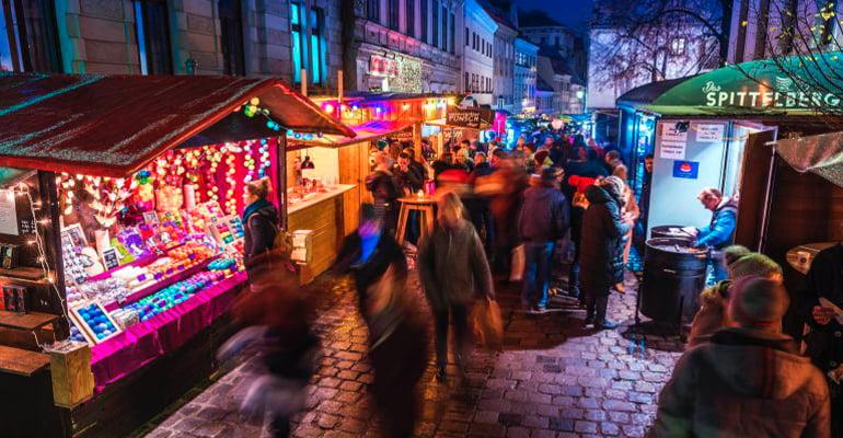 mercado Navidad Viena Spittelberg