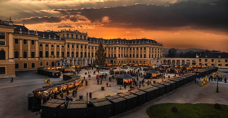 mercado Navidad Viena Schönbrunn