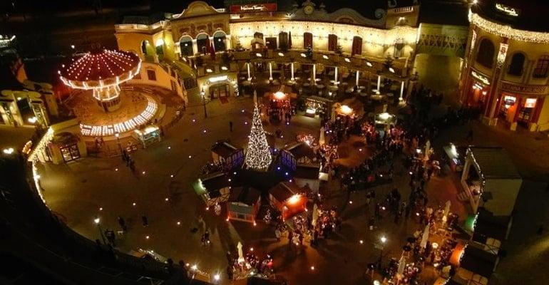 mercado Navidad Viena Prater