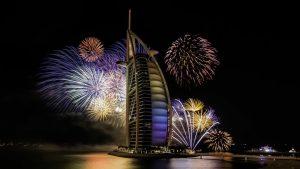 navidad en Dubai