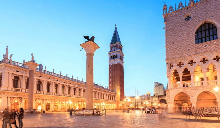 Plaza San Marcos, lugar que ver en Venecia