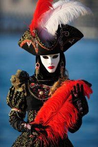 carnaval de Venecia disfraz