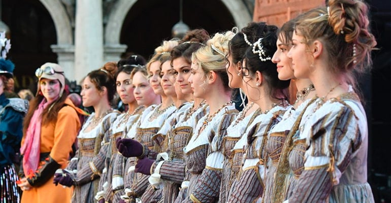 Fiesta de las Marias Carnaval de Venecia