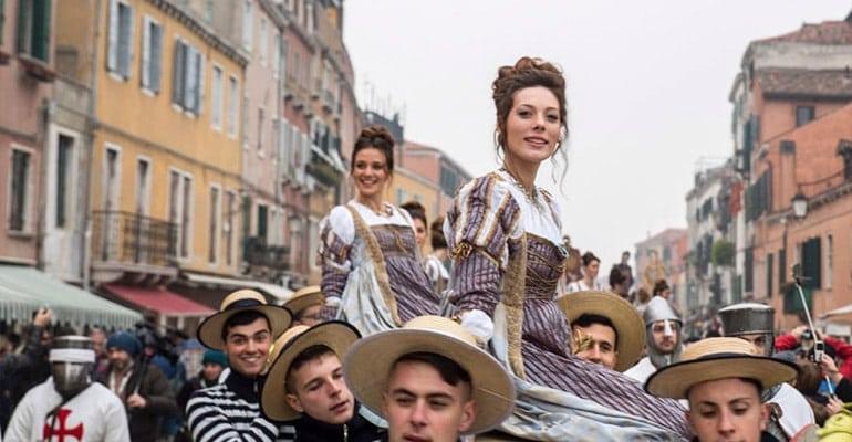 Carnaval de Venecia Fiesta de las Marias