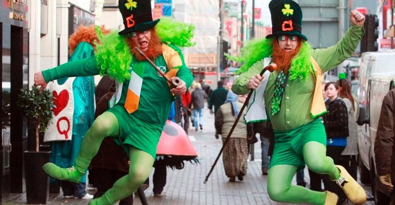 disfraces de san patricio en Irlanda