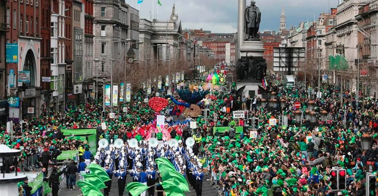 desfile san patricks Dublin
