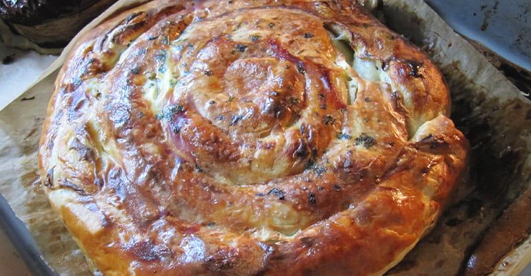 Banitsa, un plato que comer en Bulgaria