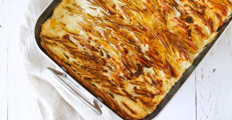 Flødekartofler, plato que comer en Dinamarca