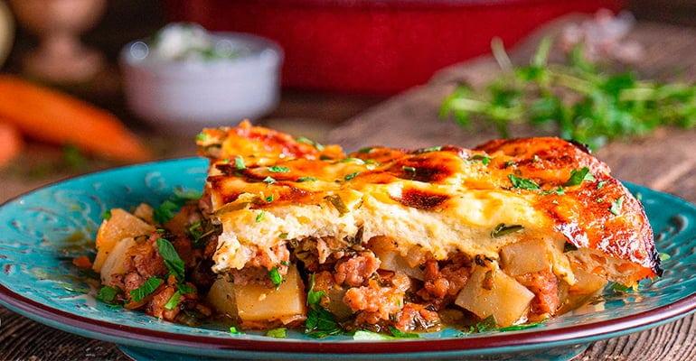 Musaka, un plato que comer en bulgaria