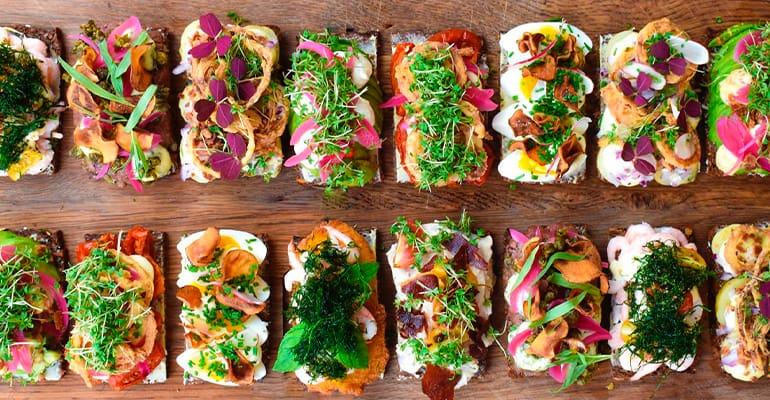Smørrebrød, plato que comer en Dinamarca imprescindible