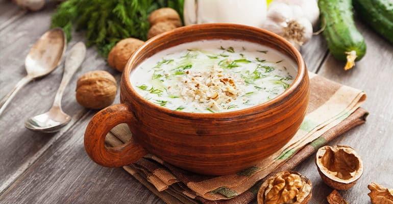 Tarator, una sopa que comer en Bulgaria