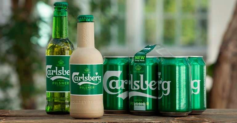 cerveza danesa Carlsberg