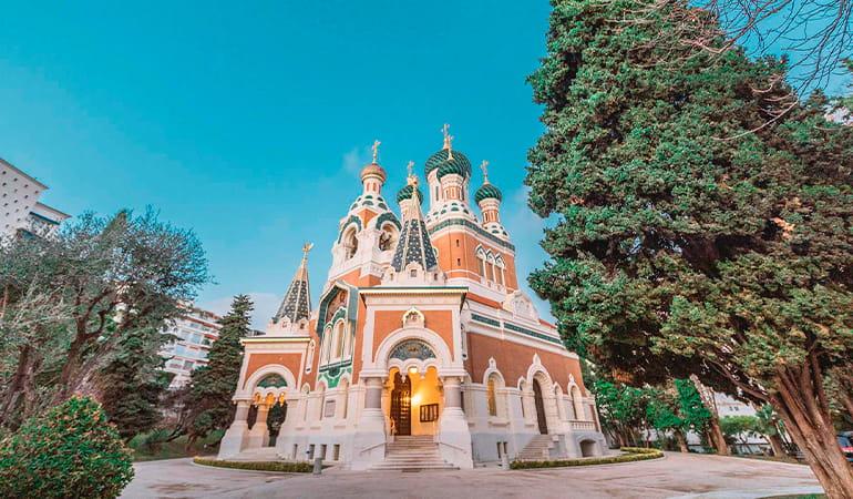 Catedral San Nicolas, lugar que ver en Niza