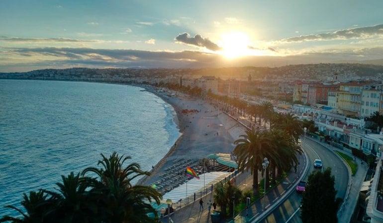 Promenade des Anglais, lugar que ver en Niza
