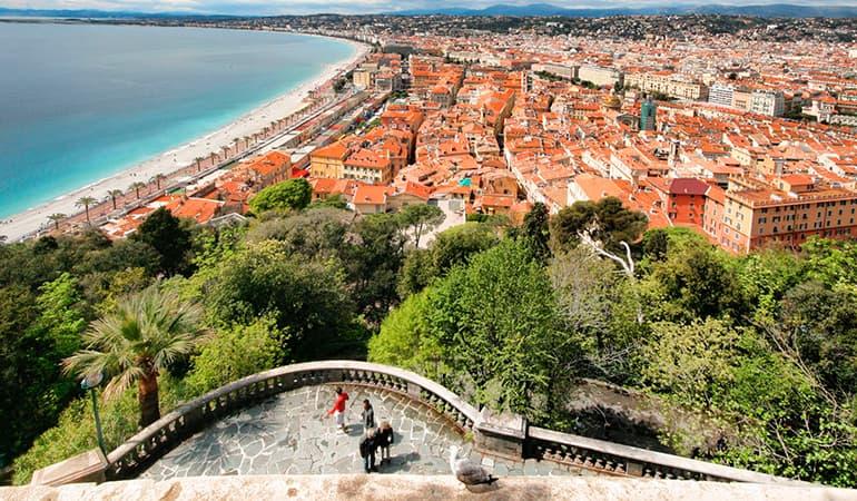 Colina del Castillo, lugar que ver en Niza