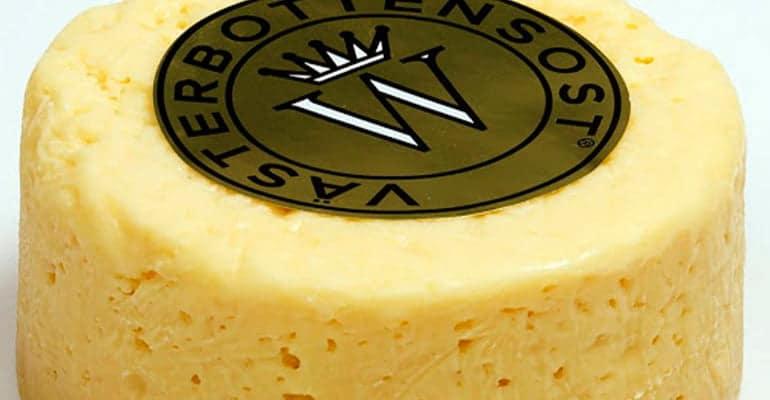 Västerbotten, queso que comer en suecia