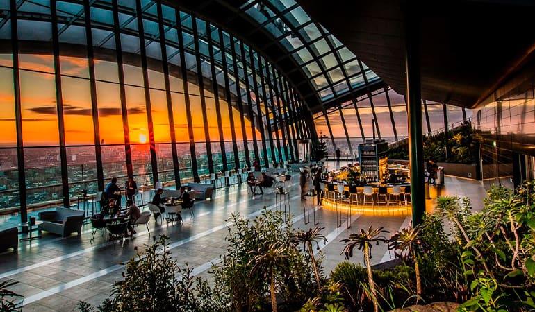 Sky Garden, lugar que ver en Londres